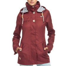 Ragwear Like You Jacket Chili Red Damen Jacke Parka Übergangsjacke Rot