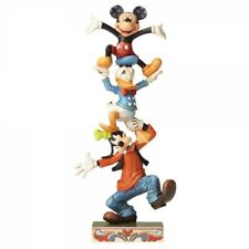 NEW Teetering Tower Figurine (Goofy, Donald & Mickey) - Disney Traditions