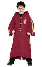 Childs Deluxe Harry Potter Quidditch Robe Halloween Fancy Dress Age 3 - 10