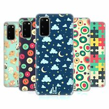 HEAD CASE DESIGNS PATTERNS FOR YOUNGSTERS SOFT GEL CASE FOR SAMSUNG PHONES 1