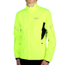Gore Running Essential Windstopper Active Shell Partial Jacket Yellow Laufjacke