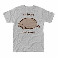 Official Women's Pusheen So Lazy Move Fitted T-Shirt - Ladies