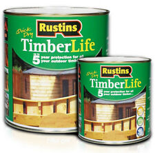 Rustins Quick Dry Timberlife 5 Year Protection ALL Shades ALL Sizes Available