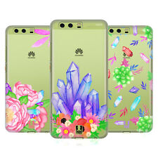 HEAD CASE DESIGNS CRYSTALS AND FLORALS HARD BACK CASE FOR HUAWEI PHONES 1