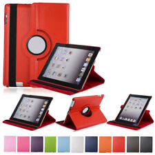 para Apple iPad 3 4 AIRE 2 Mini 2 3 Libro Smart 360° Giratorio Funda de polipiel