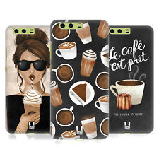 HEAD CASE DESIGNS FRENCH CAFE HARD BACK CASE FOR HUAWEI PHONES 1