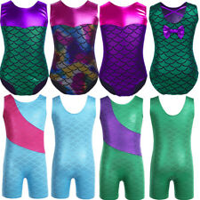 Kids Girls Ballet Dance Wear Leotard Dress Ballerina Dancing Gymnastics Costume
