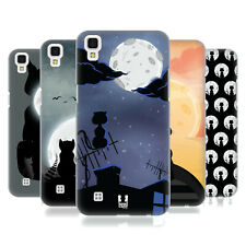 HEAD CASE DESIGNS CAT AND MOON HARD BACK CASE FOR LG PHONES 2