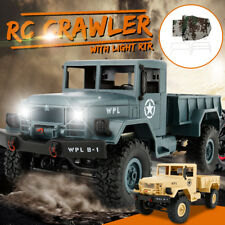 WPL WPLB-1 1/16 2.4G 4WD Vehicle RC Crawler Off-Road Car Truck W/ RTR +Canvas