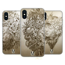 HEAD CASE DESIGNS TANGLED PORTRAITS SOFT GEL CASE FOR APPLE iPHONE PHONES