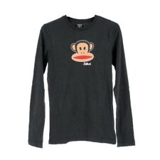 Paul Frank Julius Head LS T-Shirt Donna FHPFAW62000 BLK Black