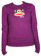 Paul Frank Julius Head LS T-Shirt Donna FHPFAW62000 HOL Hollyhock