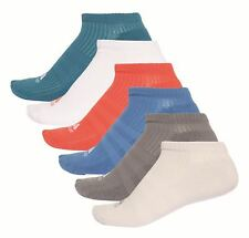 Adidas Performance Adulto Calcetines No-show Calcetines, 6 Pares Multicolor