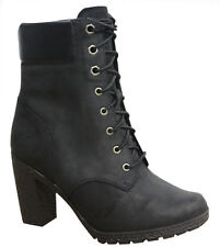 Timberland Earthkeepers EK Glancy 6 Inch Womens Boots Black Leather 8432A D1