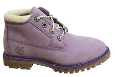 Timberland Af Nellie Chukka con lacci viola DONNA STIVALI IN PELLE 8131a D4