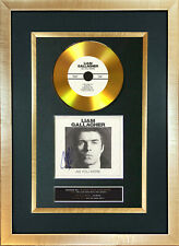 #156 GOLD DISC LIAM GALLAGHER As You Were Cd Signed Autograph Mounted Repro A4