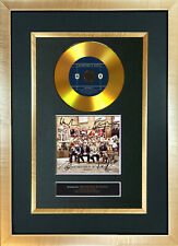 #94 GOLD DISC MUMFORD AND SONS Album Signed Autograph Mounted Photo Repro A4