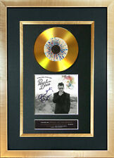 #127 GOLD DISC PANIC AT THE DISCO Album Signed Autograph Mounted Repro A4