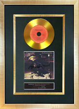 #149 GOLD DISC BARBRA STREISAND Broadway Album Signed Autograph Mounted Repro