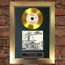 #164 GOLD DISC ERIC CLAPTON 461 Ocean CD Album Signed Autograph Mounted Repro