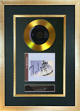 #107 GOLD DISC DIRE STRAITS Brothers in Arms Signed Autograph Mounted Repro A4
