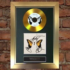 #119 GOLD DISC PARAMORE Brand New Eyes Album Signed Autograph Mounted Repro A4