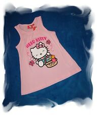 Camiseta Hello Kitty Top Rosa 116 Niñas Top NUEVO