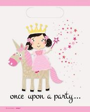 Unicorn Magical Fairy Tale Plastic Loot Bags Birthday Party Kids Gift Favour