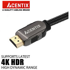acentix uitra 4k SERIE ORO Cable HDMI 3d Cable Para Xbox One X PS4 PRO juegos