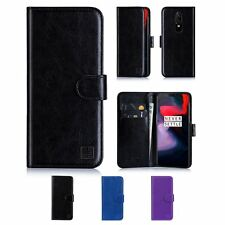 32nd Book Series – Synthetic PU Leather Flip Wallet Case Cover For OnePlus 6