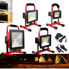 10W - 50W LED Foco Recargable Foco proyector Recargable IP65 Lámpara Camping