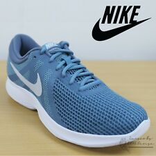 Nike Revolution 4 Womens Running Shoes Blue Sports Trainers Lightweight Sneakers