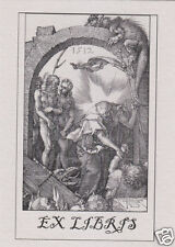 EX LIBRIS BOOKPLATE Harrowing of Hell