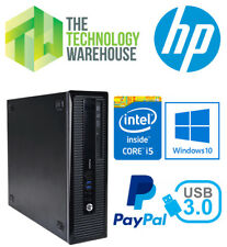 HP PRODESK 400 G1 SFF PC - 4TH GEN I5 CPU, 8GB RAM, 500GB HDD, WINDOWS 10 PRO