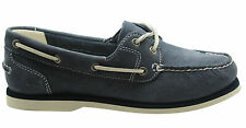 Timberland Earthkeepers Classic da donna BARCA SENZA RIGHE Scarpe blu navy 3937R