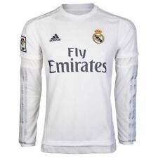 ADIDAS REAL MADRID Domicile long manches 2015/16 hommes maillot de foot s12653