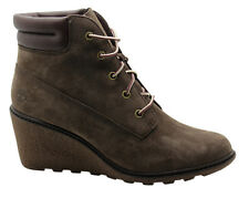 Timberland Earthkeepers EK Amston 6 Inch Womens Wedge Brown Leather 8252A U69