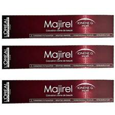3x Loreal Majirel Permanent Creme Haarfarbe - 50ml