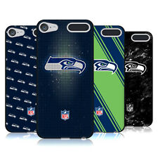OFFICIAL NFL 2017/18 SEATTLE SEAHAWKS BLACK GEL CASE FOR APPLE iPOD TOUCH