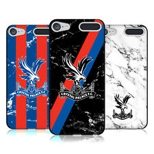 OFFICIAL CRYSTAL PALACE FC 2017/18 MARBLE BLACK GEL CASE FOR APPLE iPOD TOUCH