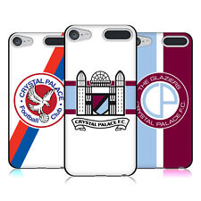 OFFICIAL CRYSTAL PALACE FC 2016/17 BADGE BLACK GEL CASE FOR APPLE iPOD TOUCH