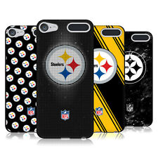 OFFICIAL NFL 2017/18 PITTSBURGH STEELERS BLACK GEL CASE FOR APPLE iPOD TOUCH
