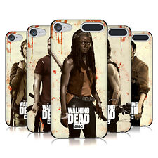 OFFICIAL AMC THE WALKING DEAD DISTRESSED BLACK GEL CASE FOR APPLE iPOD TOUCH