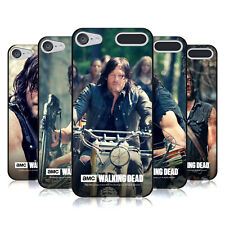 OFFICIAL AMC THE WALKING DEAD DARYL DIXON BLACK GEL CASE FOR APPLE iPOD TOUCH