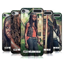 OFFICIAL AMC THE WALKING DEAD MICHONNE BLACK SOFT GEL CASE FOR APPLE iPOD TOUCH