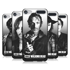AMC THE WALKING DEAD FILTERED PORTRAITS BLACK SOFT GEL CASE FOR APPLE iPOD TOUCH