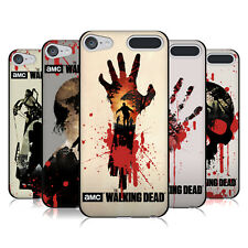 OFFICIAL AMC THE WALKING DEAD SILHOUETTES BLACK GEL CASE FOR APPLE iPOD TOUCH