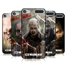 OFFICIAL AMC THE WALKING DEAD WALKERS BLACK SOFT GEL CASE FOR APPLE iPOD TOUCH