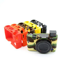 Silicone Rubber Body Cover Case For Sony RX100 III IV IIV Camera Armor Protector