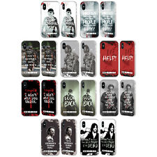 OFFICIAL AMC THE WALKING DEAD QUOTES SILVER FENDER CASE FOR APPLE iPHONE PHONES